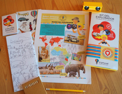 KIT DEL EXPLORADOR - SAFARI AFRICANO - Triphood