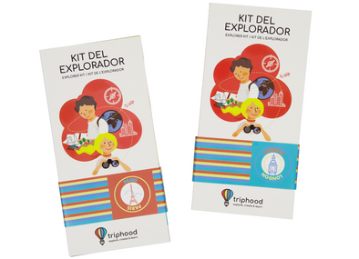 KIT DEL EXPLORADOR PARÍS Y LONDRES - Pack ciudades - Triphood