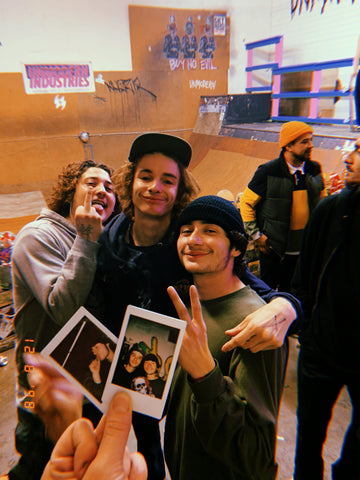 Chachi, Andreas & Cole reppin as always!