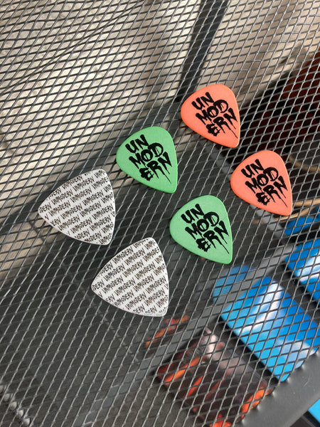 UNMODERN | Assorted Guitar Picks | 6-Pack Set