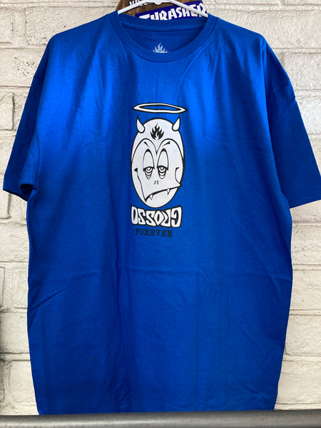 BLACK LABEL | Grosso Forever Blue T-Shirt | X-Large