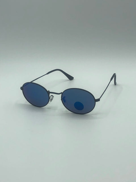 GLASSY | Campbell Polarized | Black / Blue Mirror