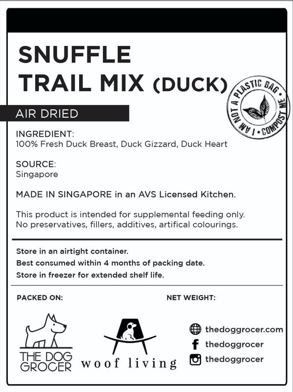 Snuffle Duck Trail Mix (100g)