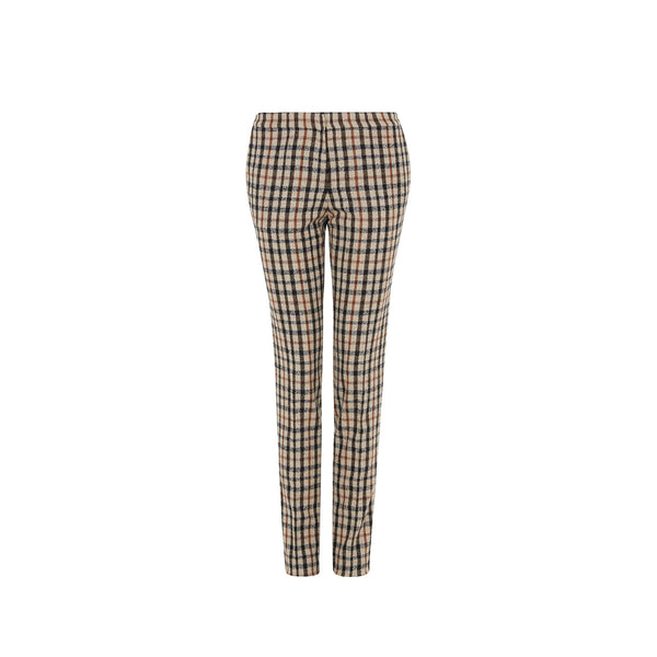 HOUSE CHECK WOOLLEN TROUSERS