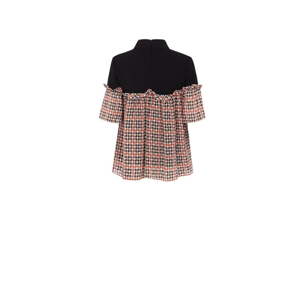 Transfigured House Check Blouse