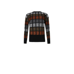 125th ANNIVERSARY CHECK CREW NECK JUMPER