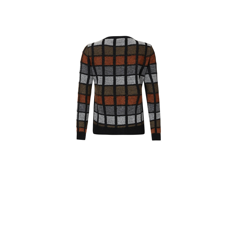125th ANNIVERSARY CHECK CARDIGAN