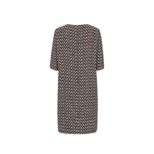 LINTON TWEED SHIFT DRESS