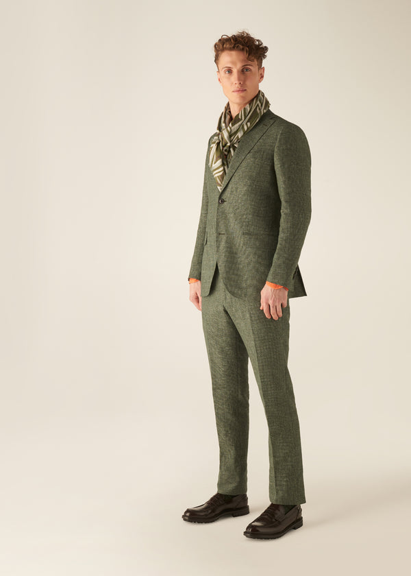 JACK - TRAVIS - Textured Linen & Cotton Suit