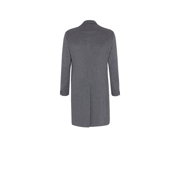DOUBLE-BREASTED WOOLLEN OVERCOAT
