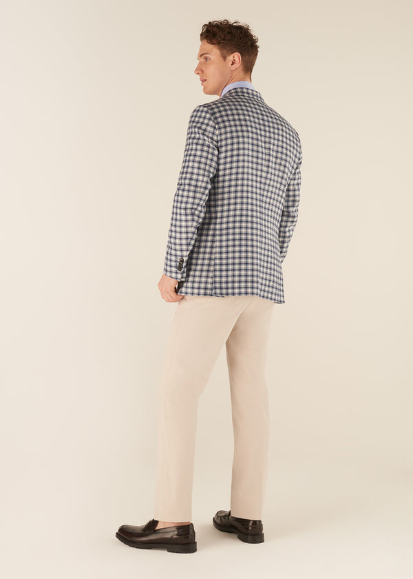 JACK - CHECK TWILL JACKET
