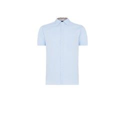 SHORT SLEEVED BABY BLUE SHIRT