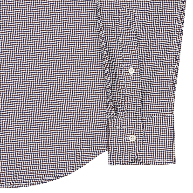 Dogtooth Check Shirt