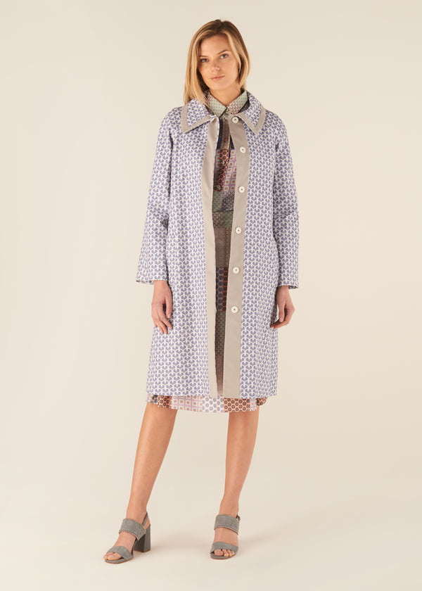 DD Monogram Print Coat