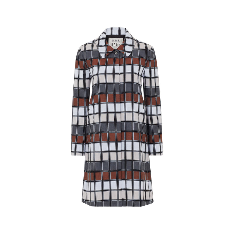Anniversary Check Coat