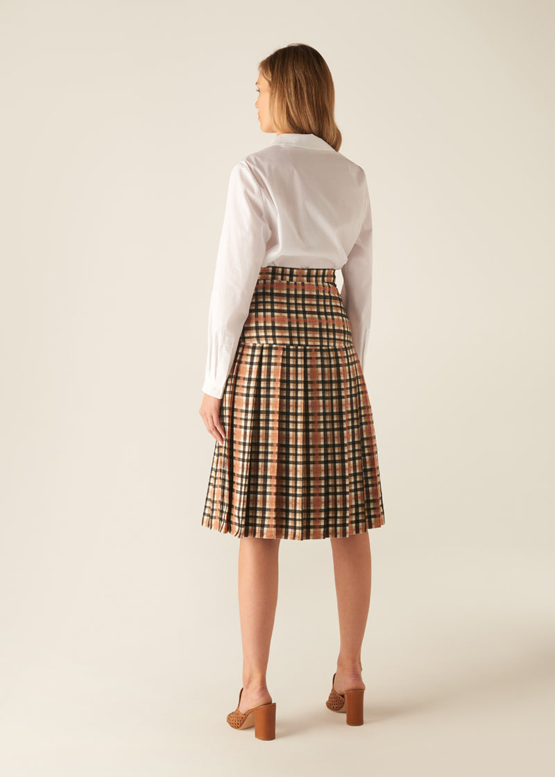 ARTISAN CHECK SKIRT