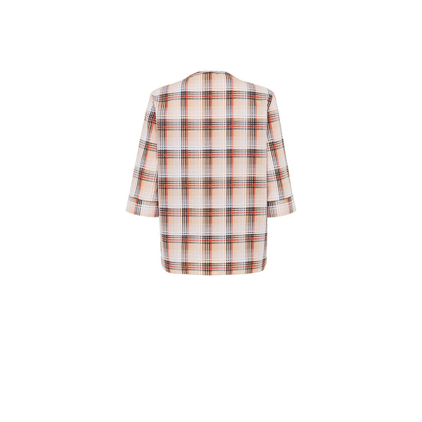 UTILITY CHECK BLOUSE