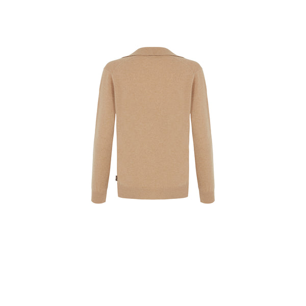 POLO COLLAR CASHMERE JUMPER