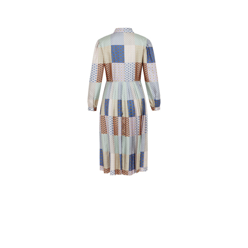 PATCHWORK DD PRINT DRESS