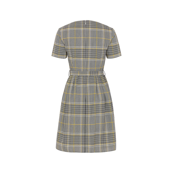 Anniversary Check Dress