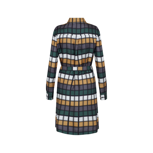 Anniversary Check Shirt Dress