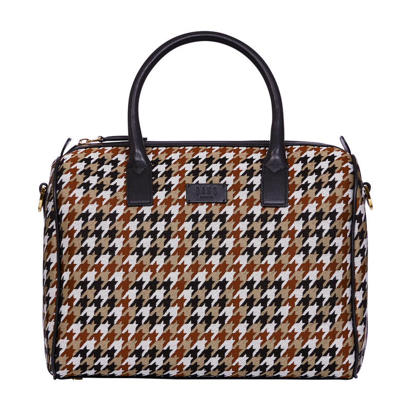 TRANSFIGURED CHECK TRUNK BAG