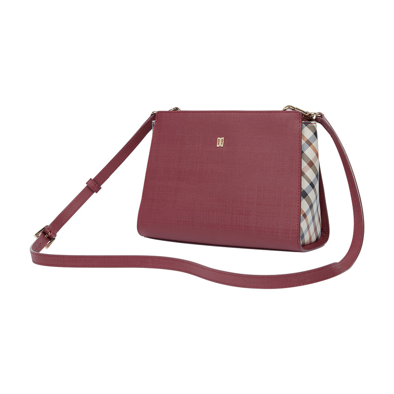 VALLETTA LEATHER CROSS BODY BAG