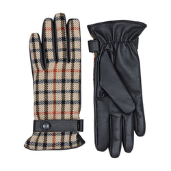 House Check Driving Gloves