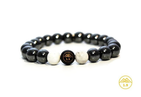 <strong>BRACELET ENFANT HEMATITE ''UMEA BLACK MOUNTAIN''</strong>