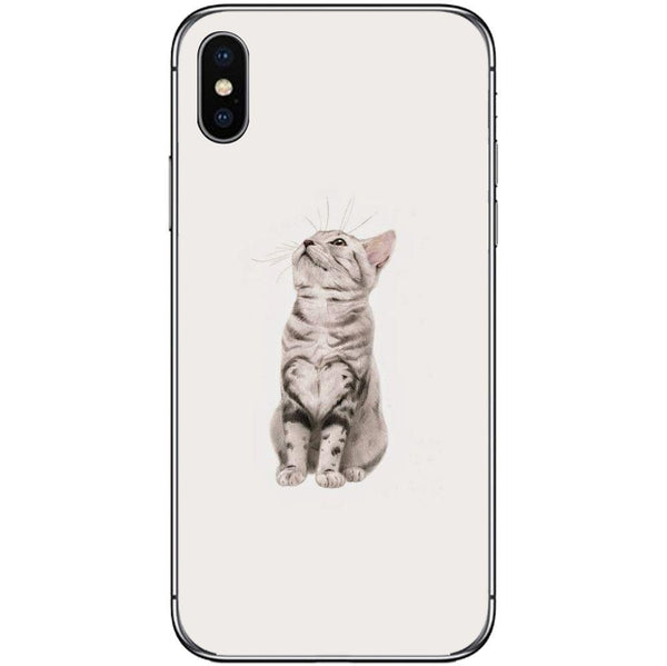 Phone CaseCute Little Tiger Cat APPLE Iphone X