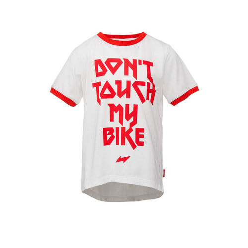 "woom KOSZULKA ""DON'T TOUCH MY BIKE"""