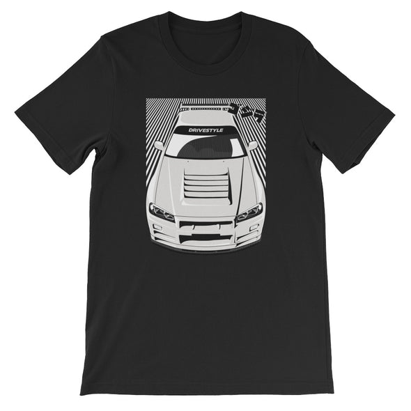 R34 GT-R Rush Unisex T-Shirt - DRIVESTYLE