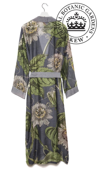 one hundred stars kew royal botanic garden passion flower grey gown