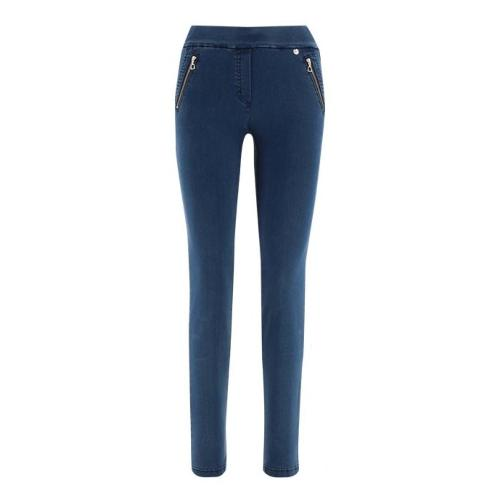 Robell Nena Trousers Denim (64)