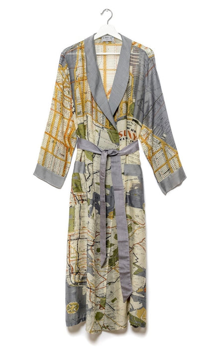 One Hundred Stars Blossom & Birds Kimono