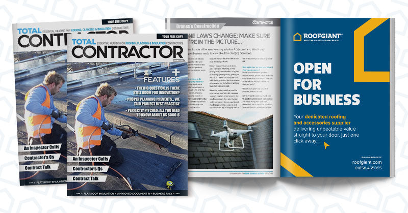Have you spotted us in Total Contractor Magazine?