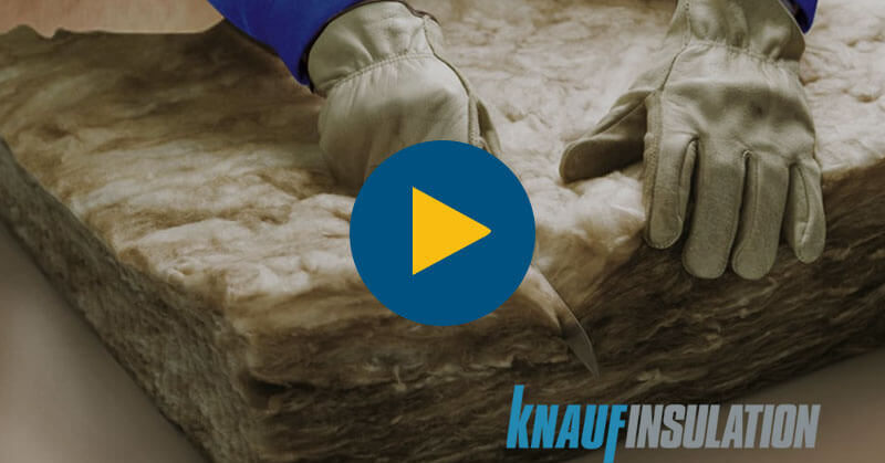 Installing Knauf Earthwool