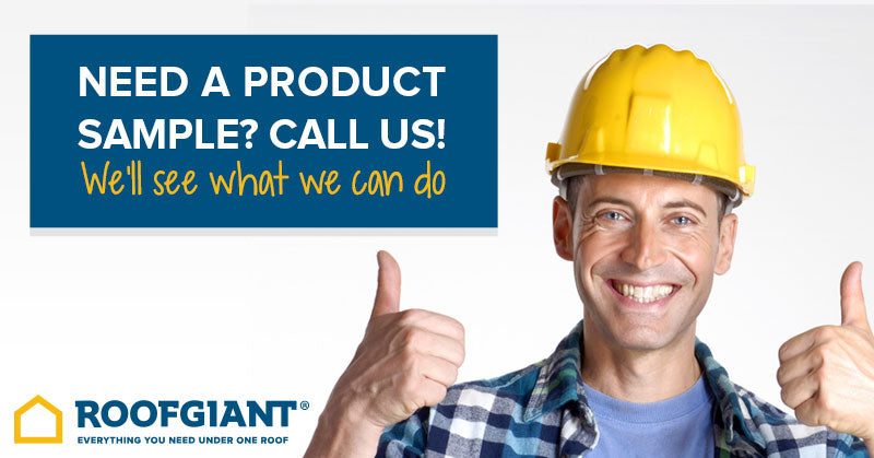 Need a product sample? Call us!