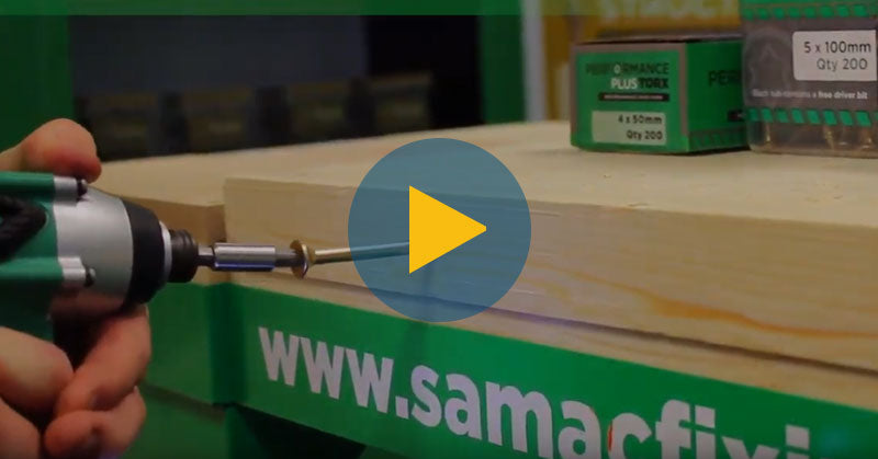 Samax Fixings performance range