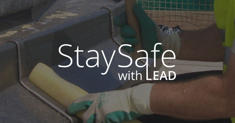 Stay safe with lead
