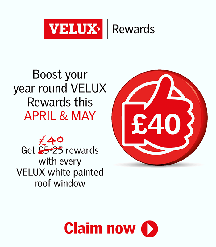 Boost your year round VELUX Rewards this April & May