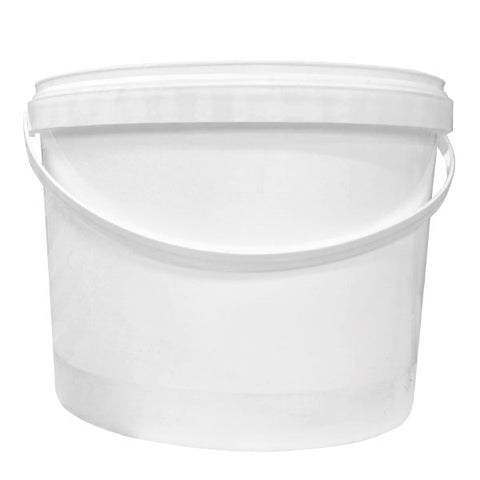 10lt White Plastic Tub (no lids required)