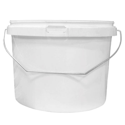 5lt White Plastic Tub (No lids required)