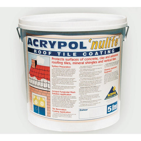 Acrypol Nulife Roof Tile Coating 5 litre