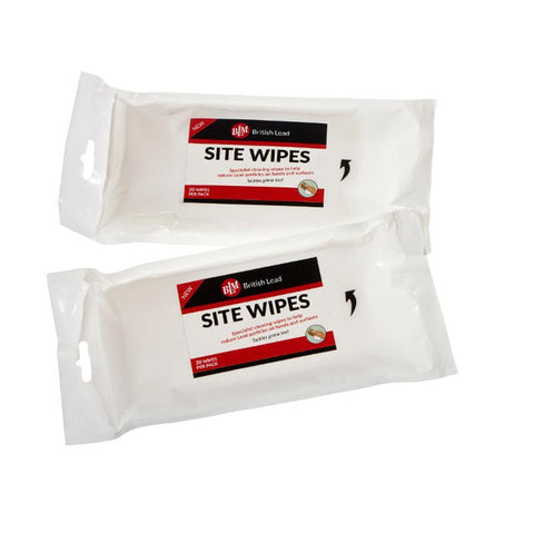 BLM Site Wipes Pack of 20 Wipes, Box of 10 Packs