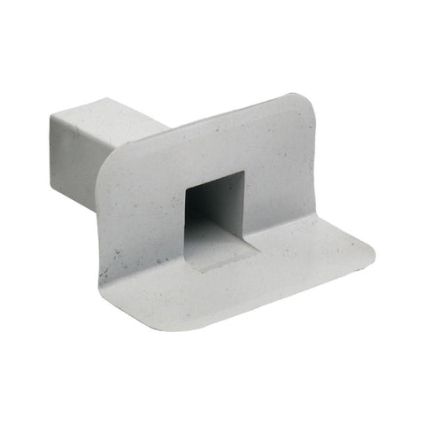 CMS Square Through Wall Roof Drain PVC