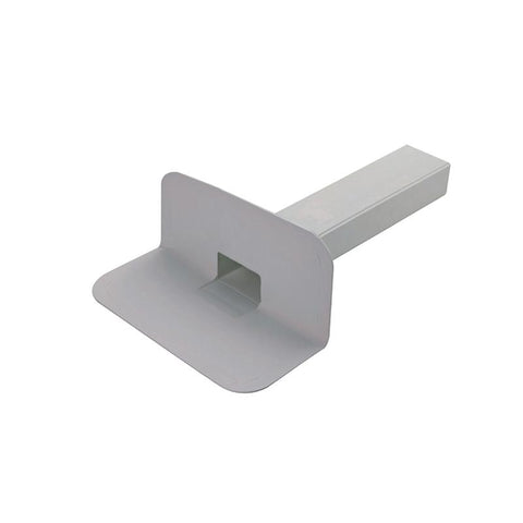 CMS Square Through Wall TPO Roof Drain 65mm