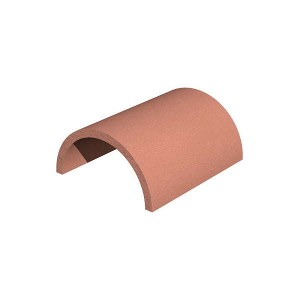 Marley Eternit Clay 305mm Half Round Ridge Tile View