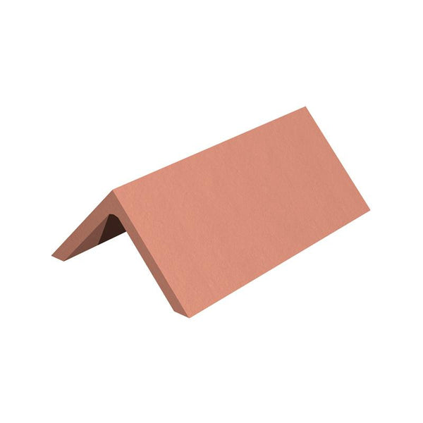 Marley Eternit Clay 450mm Capped Angle Ridge Tile View