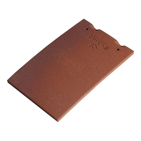 Marley Hawkins Clay Roof Plain Tile - Pack of 12